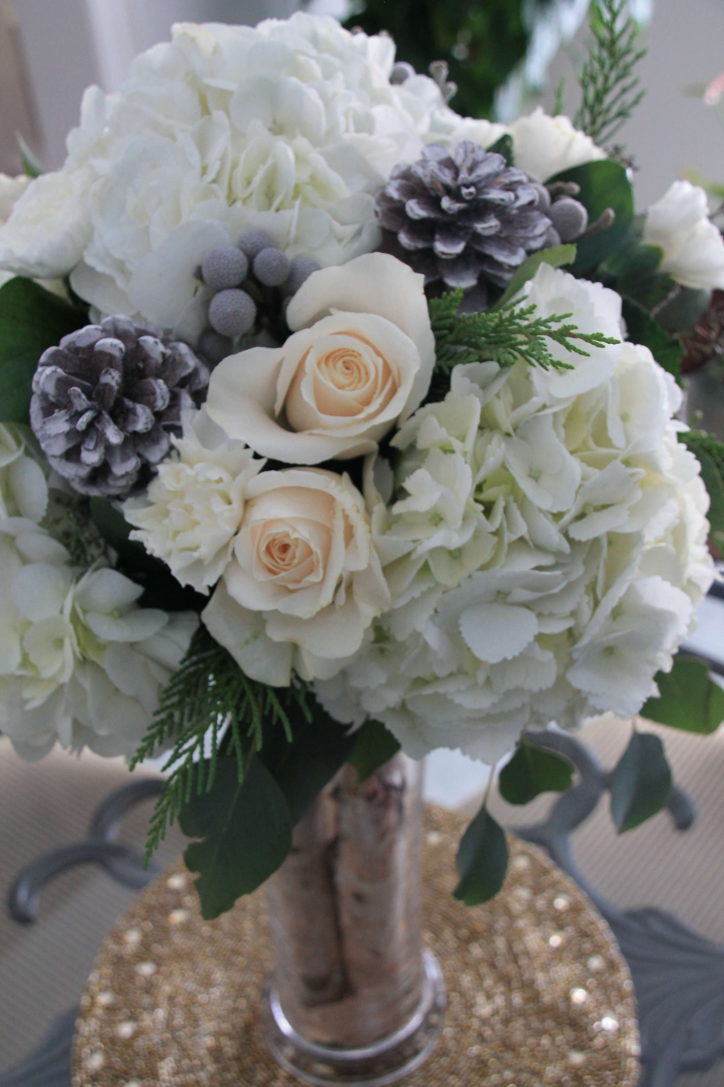 Winter flower arrangements elegant bouquets some of our winter flower arrangements mightylinksfo