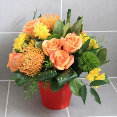 Orange Crush Flower Arrangement