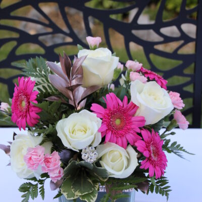 Pretty Pink Vase Arrangement